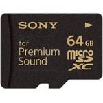 Sony представила карту памяти для меломанов
