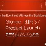 Gionee представит Elife S7 2 марта