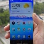 Первое фото «безрамочного» смартфона Oppo