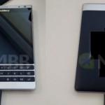 Первые «живые» фото смартфона BlackBerry Oslo
