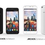 50 Helium Plus и 55 Helium Plus – недорогие LTE-смартфоны от Archos