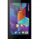 teXet X-smart – новый бюджетный смартфон