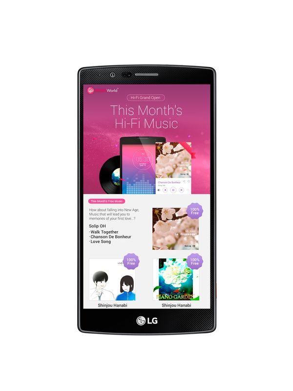 Hi-Fi Music Service on LG SmartWorld-small