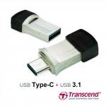 Transcend представляет JetFlash 890S с двумя разъемами USB — Type-C и USB 3.1