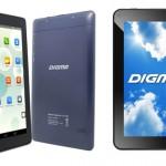 Планшеты Digma Optima 7.21 3G и Digma Optima 7.13