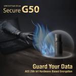 SP Silicon Power представил USB-накопитель Secure G50 с интерфейсом USB 3.0 и тройной защитой данных