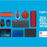 Logitech получает наибольшее количество наград конкурса Red Dot за всю историю компании