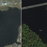 Новые спутниковые снимки Украины на Яндекс.Картах