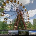Безопасная прогулка Чернобыльской зоной на Картах Google