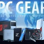 PC Gear: SSD, HDD, видеокарты, процессоры — по выгодным ценам