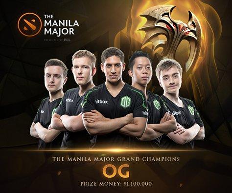 Победители ММ OG