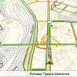 Яндекс.Навигатор предупреждает о превышении скорости