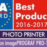 Техника Canon получила 4 награды EISA Awards