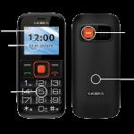 Новая модель мобильного телефона teXet ТМ-B117 для пожилых людей