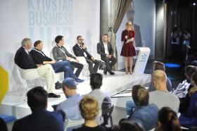 Пресс-брифинг участников Kyivstar Business Hub