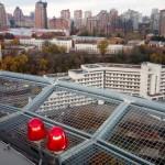 IQ Business Center открыл вертодром — ФОТО и ВИДЕО