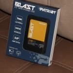 Patriot Blast (240 ГБ): тонкий металлический SSD с хорошими скоростями и множеством полезных технологий