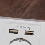 Cablexpert MWS-ACUSB2-01: электрическая розетка с USB-портами