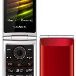 Доступный мобильный телефон в форм-факторе раскладушки — teXet TM-404