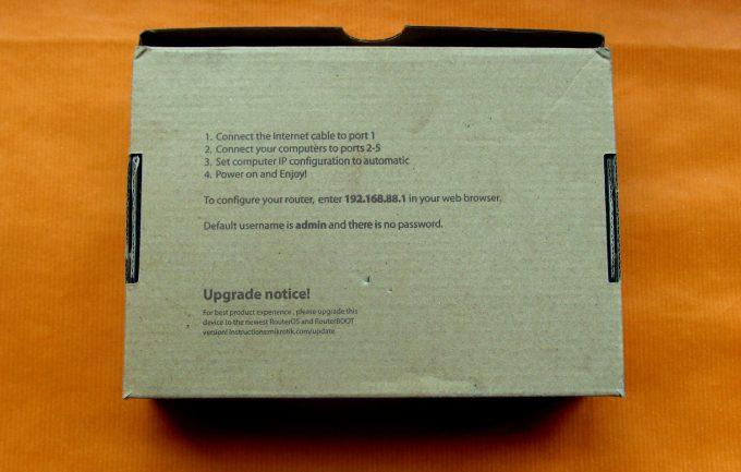 Mikrotik hAP ac упаковка