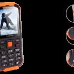 Защищённый телефон с функцией Powerbank – teXet TM-501R