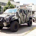 Партия легких бронеавтомобилей КрАЗ-Кугуар ушли на фронт