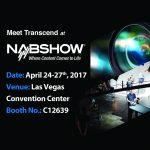 Transcend продемонстрирует свои решения на NAB Show 2017