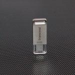 Transcend JetFlash 850S (32 ГБ): компактная и легкая металлическая флешка для ПК или смартфонов с USB Type-C