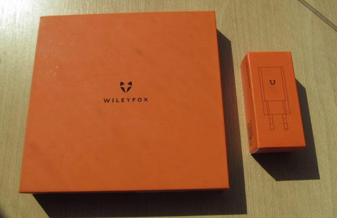 Wileyfox Swift 2 коробка