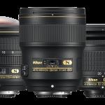 Три новые объективы Nikon NIKKOR