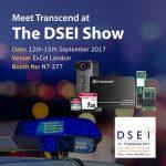 Transcend «засветит» новые продукты на DSEI 2017