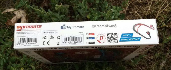 Promate Solix-1 коробка