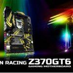 Материнские платы BIOSTAR RACING Z370GT6 3-го поколения получили новый яркий дизайн