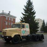 КрАЗ доставит главную елку страны