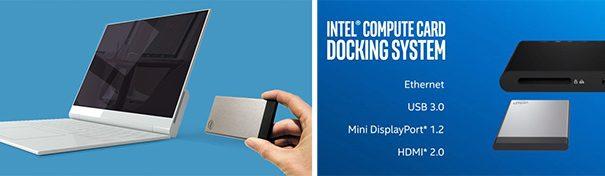 Модульная компьютерная платформа iRU на базе Intel Compute Card