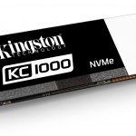 Kingston представляет KC1000 NVMe PCIe SSD – твердотельные накопители для самых требовательных пользователей