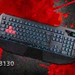 A4Tech Bloody B130 — надежная игровая клавиатура с водонепроницаемым покрытием