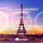Huawei готовит к запуску флагман P20