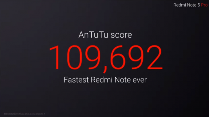 Redmi Note 5 Pro AnTuTu