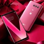 LG V30 вышел в малиново-розовом