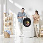 LG выпускает инновационную стиральную машину Twinwash с двумя барабанами и Wi-Fi
