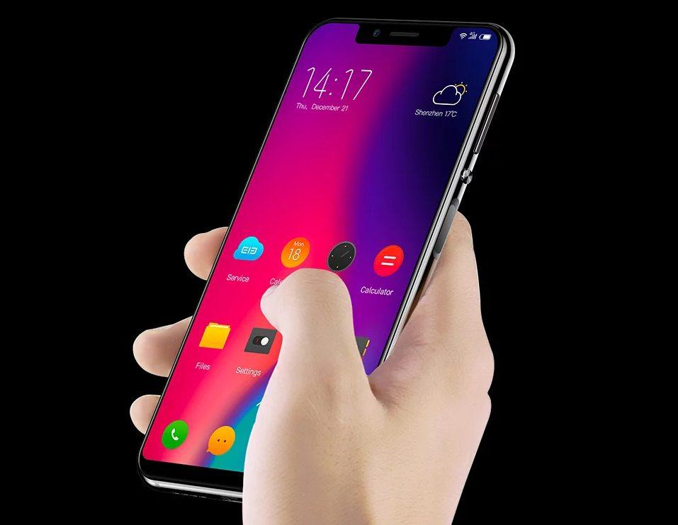 Бюджетный смартфон Elephone A4 Pro получил дисплей встиле iPhone X