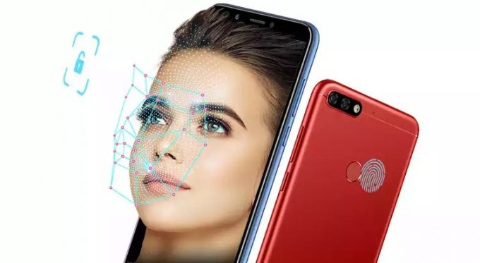Honor Play 7C Face ID