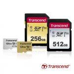 Transcend выпускает новые высокоскоростные и емкие SD и microSD карты памяти