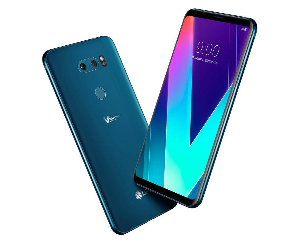 LGпоказала мобильные телефоны V30S ThinQ иV30S+ ThinkQ
