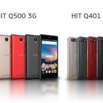 Смартфоны DIGMA HIT Q401 3G и Q500 3G