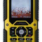 Sigma mobile X-treme PQ67 — защищенный телефон с поддержкой 3G и Wi-Fi