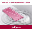 LG G7 ThinQ получил динамик BOOMBOX и систему DTS:X