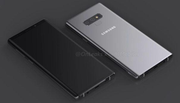 Samsung запустит Galaxy Note 9 с 512 ГБ