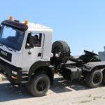 КрАЗ-6510 — новый полноприводный тягач КрАЗ
